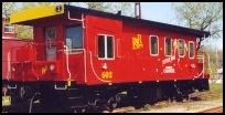 The Red Caboose is available for Charter on regularly scheduled trains.
